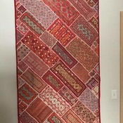 Traditional Embroidery Wall Hanging