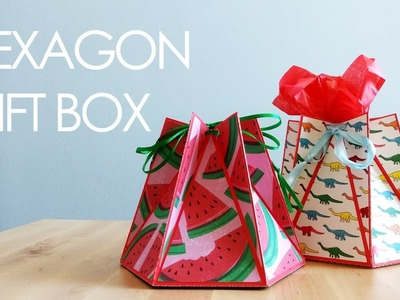 [Tutorial + Template] Hexagon Gift Box or Favour Box