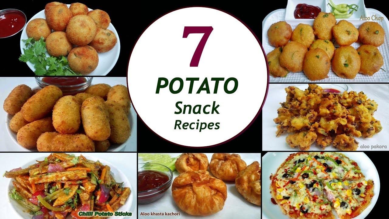 7 Potato Snack Recipes    7 Days.Week Aloo Snacks    Simple & Easy Recipes
