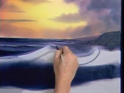 Bob Ross - Ocean Sunset (Season 10 Episode 10)