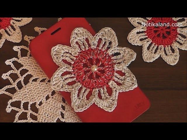 Crochet flower EASY Crochet flower for beginners