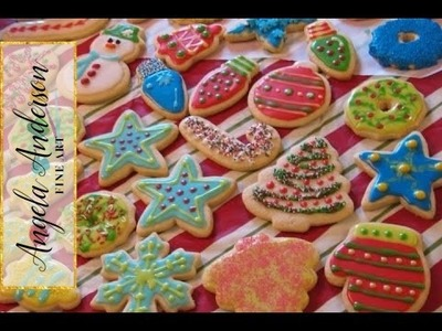 Decorating Christmas Cookies! Live Cookie Party!!  #LoveWinterArt