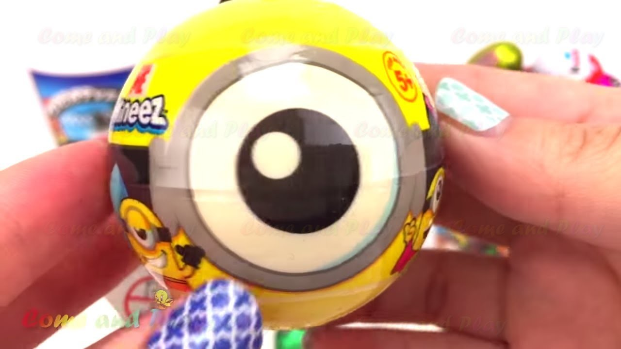 Disney Cups Surprise Toys with Minions TMNT and Frozen Surprises