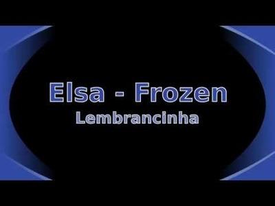 Elsa - Frozen - Lembrancinha - Biscuit - #78