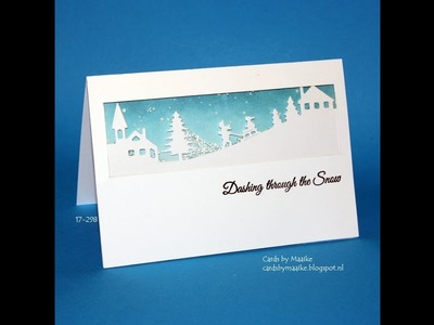 Everyday Christmas card series #15  diamond shaker