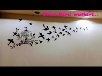 Free bird wallart