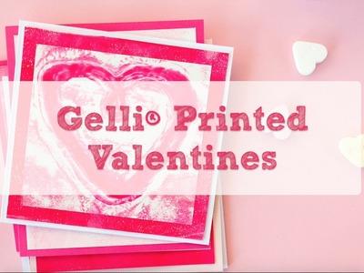 Gelli Arts® Printed Valentine's Day Cards