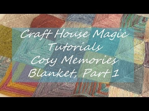 How I knit my Cosy Memories blanket, Part 1: How to knit a square