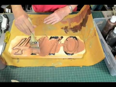 How to create a Copper VerDay house number plaque