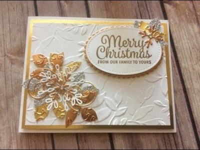 How to Create a #Glitzy Christmas Card