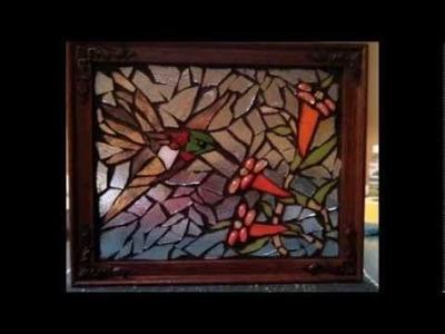 How to Make a Mosaic Glass window