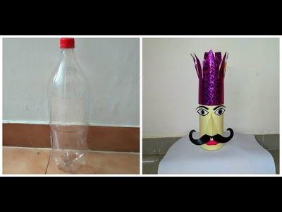 How To Make Raavan For Dussehra | Navratri At Home With Plastic Bottle