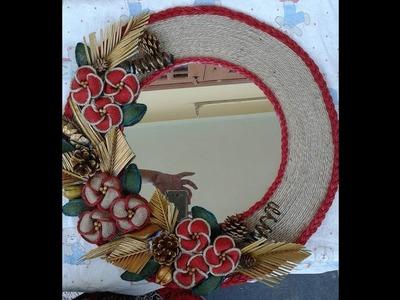 ||Jute Work by Pakistan's Woman || jute decoration things || make flowers with jute||