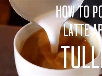 LATTE ART - HOW TO POUR A TULIP