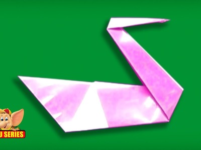 Origami - How to make a Swan