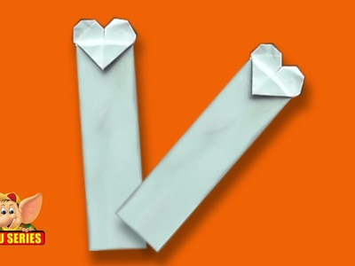 Origami - Learn to make a Heart Bookmark
