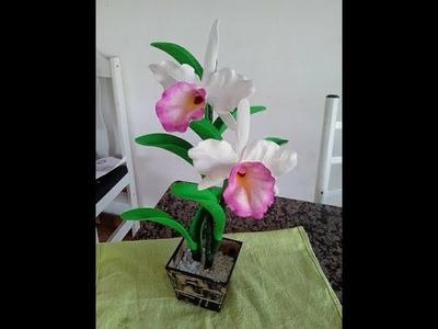 Orquidea cattleya de e.v.a