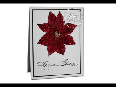 Poinsettia WOW Christmas Card with Stampin Up Joyful Christmas