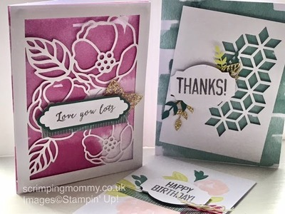 Soft sayings kit cards in minutes Stampin' Up! products
