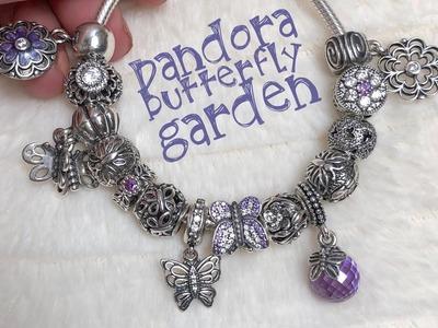 What's on my Pandora bracelet (Butterfly Garden) ????????????