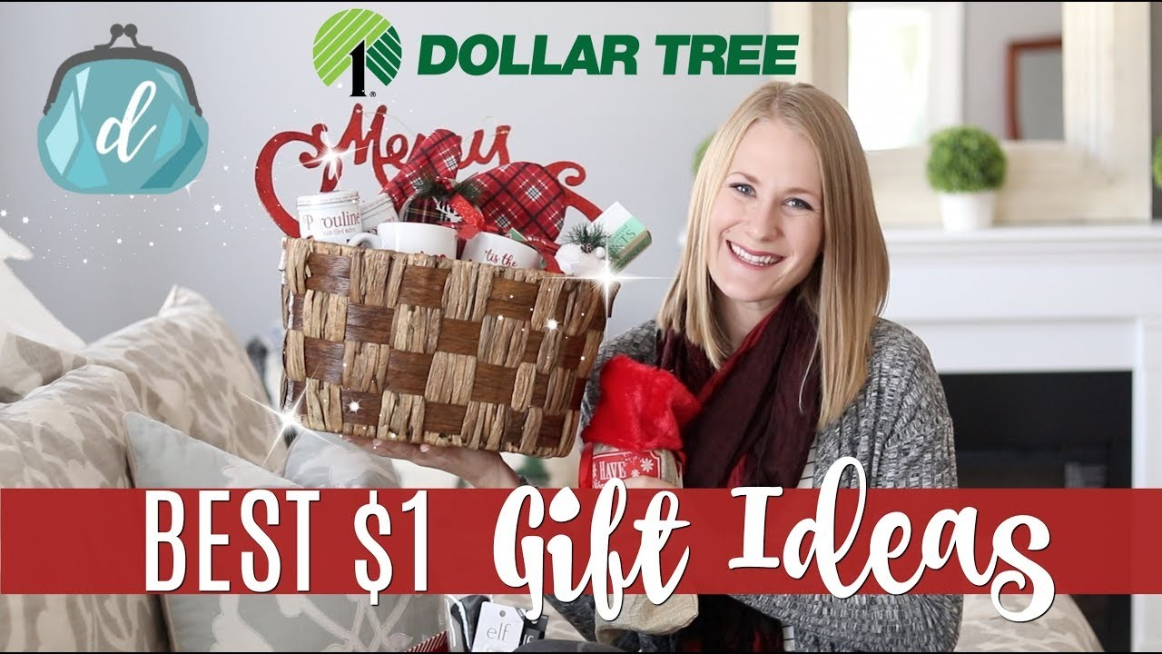 $1 DOLLAR TREE GIFT IDEAS (not tacky)! ???? Huge Haul & New Finds!