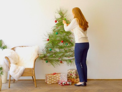 4 DIY Holiday Trees For Small Spaces