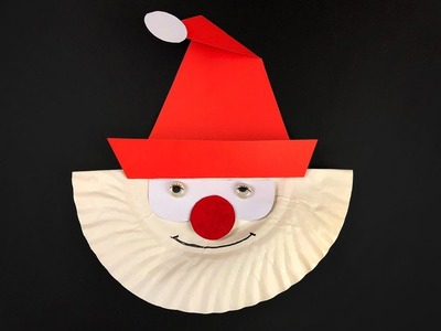 5 Christmas Craft Ideas Using Paper Plates | Christmas Ornament Craft Ideas for Kids