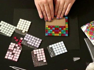 ASMR Craft | Making a Mosaic Coaster (no talking)