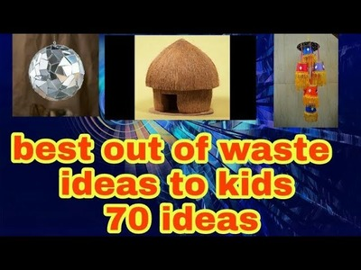 Best out of waste Craft Ideas to Kids