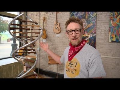 Bringing the ChromoSong to ArtPrize (a musical vlog)