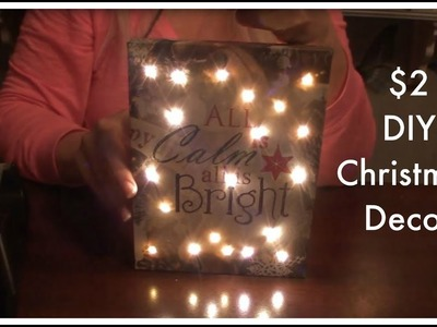 Cheap and Easy Holiday Decor Craft