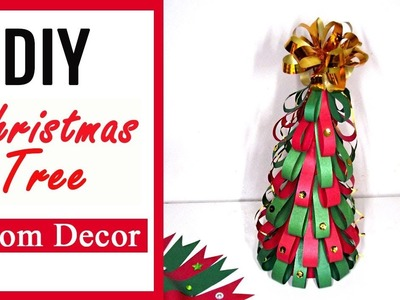 Christmas Tree DIY. How to make Easy Christmas Tree. Christmas Craft