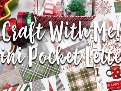 Craft With Me! Mini Pocket Letters. 25 Days Of Crafts-mas