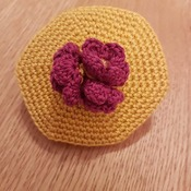 Crochet Box with Lid