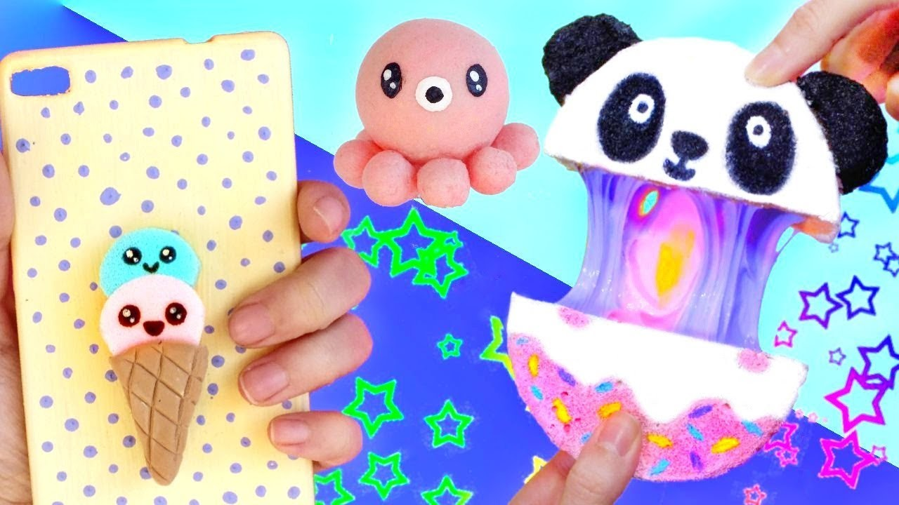DIY ANTISTRESS SQUISHIES AND SLIME
