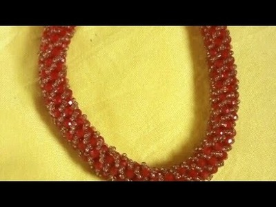 DIY.Easy Tutorial On How To Make A Russian Spiral Beaded Jewellery