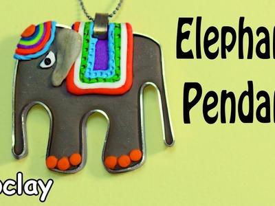 DIY Elephant Pendant - Polymer clay tutorial