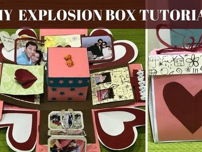 Diy explosion box tutorial!Anniversary gift idea!Birthday gIft idea!