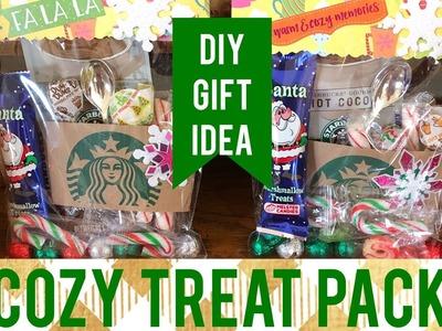 DIY Holiday Gift | Cozy Treat Packs