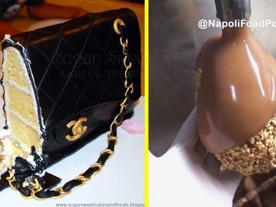 DIY How To Make Chocolate Cakes | Chocolate Cake Decorating Tutorial #30 | Satisfying Cake Video