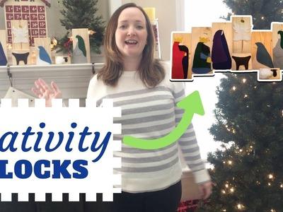 DIY Nativity Blocks Craft | Tutorial | Christmas Crafts for Kids