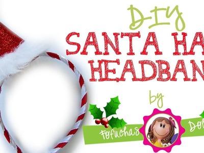 DIY Santa Hat Headband - Craft Foam Fun & Easy