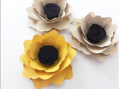 "DIY Small ""Autumn""  Flower Tutorial"