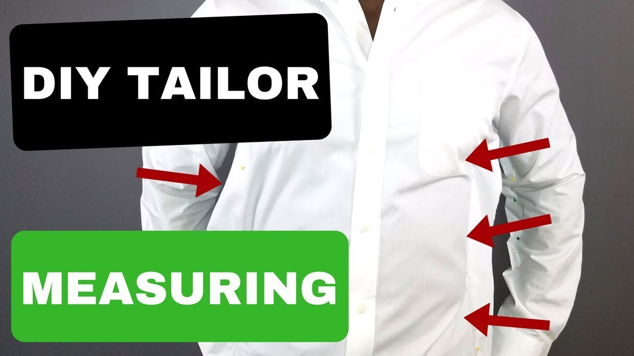 DIY Tailoring Is EASY   Measuring Your Shirt