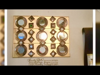 DIY Wall Mirror Decor Using Dollar Tree Plates Home Decor  Ideas Creating Elegance For Less Faithlyn