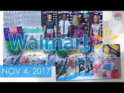 Doll Craft & Barbie Walmart Finds!! Nov 4, 2017
