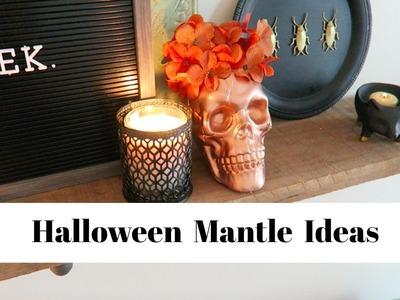 Dollar Tree DIYs Halloween Decor Ideas   4 DIYs for Halloween Mantle Decor