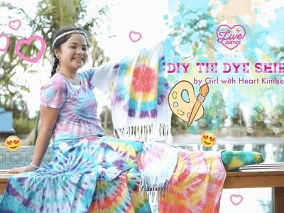 Easy DIY Tie Dye Shirt