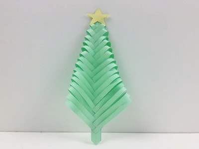 Easy Xmas Decor Crafts - Merry Christmas Paper Tree ???? How to Make a Christmas Tree out of Paper DIY