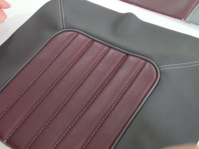 Flat Arch Designs - Car Upholstery for Beginners- Part Two